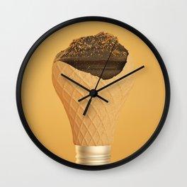 Chocolate Light Wall Clock