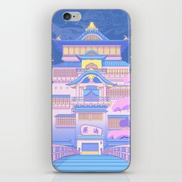 The Bath House iPhone Skin