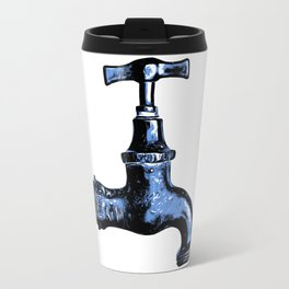 Old Faucet Travel Mug