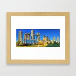 Sunny Toronto Condos Framed Art Print