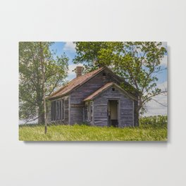 Cromwell Township School, North Dakota 5 Metal Print