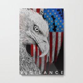 Vigilance v3 Metal Print