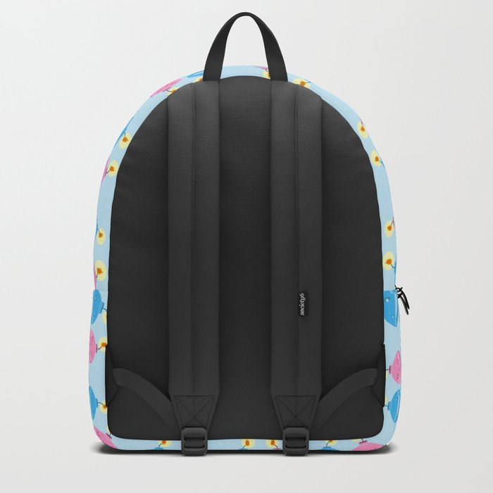 Our love is the bomb Backpack