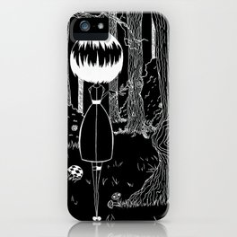 Loneliness inverted iPhone Case