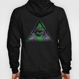 Illuminati Eye of Providence Trippy Abstract Psychedelic Gift Hoody