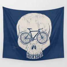 ride or die Wall Tapestry