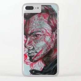 The Beast Inside Clear iPhone Case
