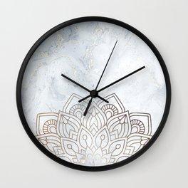 G.Marble-Wall Mandala Wall Clock