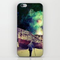 ship iPhone & iPod Skins featuring Ship by Cs025