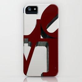 Love Philadelphia Sculpture iPhone Case