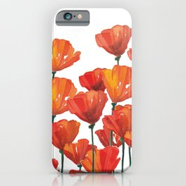 Poppies! iPhone Case
