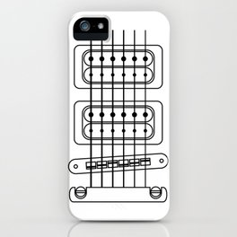 Heart Strings Guitar iPhone Case