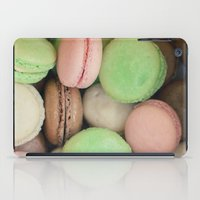 macaroons iPad Cases featuring French Macaroons by Laura Ruth