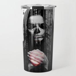 Death Waits Travel Mug