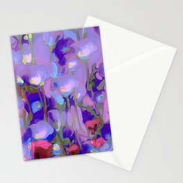 Spring Blush too, Mauve Moods Stationery Cards