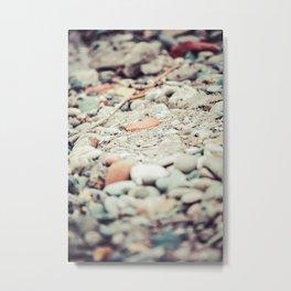 Pebbles II Metal Print
