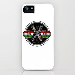 1975 Generation X Hungarian Magyar Skateboard iPhone Case