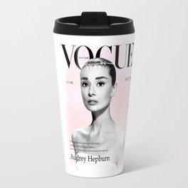 Audrey Hepburn Glamor Travel Mug