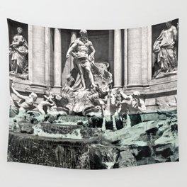 Trevi Fountain Rome Italy Wall Tapestry