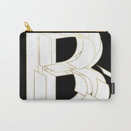Beautiful Armor Letter B Carry-All Pouch