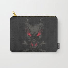 All the powers of Hell GREY RED Carry-All Pouch