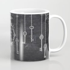 the key is laughter Mug