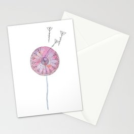 Make a wish, dandelion Stationery Cards