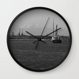 Black sea Wall Clock