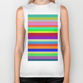 Colors, Colors, Colors Biker Tank