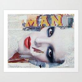 Magazine Art Print