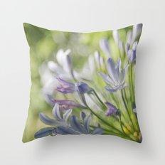 Vibrant Spring Announcing Summer Throw Pillow