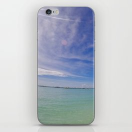 Boracay Sunshine Clear Sky iPhone Skin