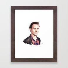 Tom Hiddleston Framed Art Print