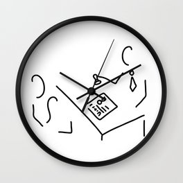 notary public lawyer Wall Clock