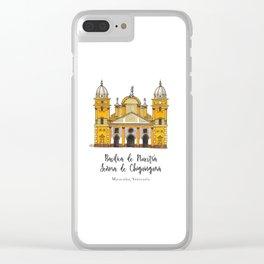 Basilica de Nuestra Senora de Chiquinquira Clear iPhone Case