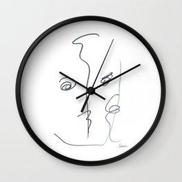 Demeter Moji d3 3-2 w Wall Clock
