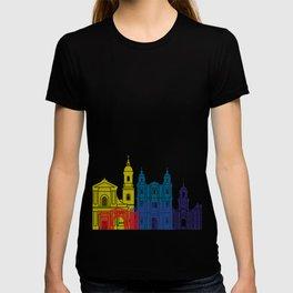 Rennes skyline pop T-shirt