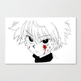 Killua HunterXHunter Canvas Print