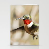 ruby Stationery Cards featuring Ruby by Bird Junker