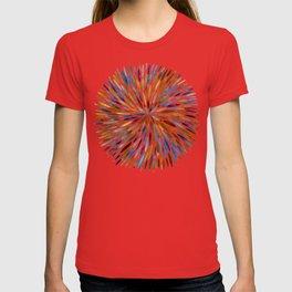 Watercolor Burst – Retro Palette T-shirt