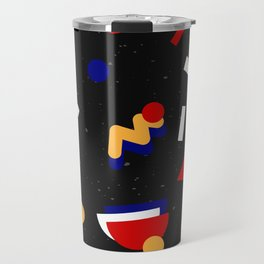 Memphis geometric pattern #2 Travel Mug