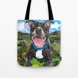 Sparky For Chicago Canine Rescue Tote Bag