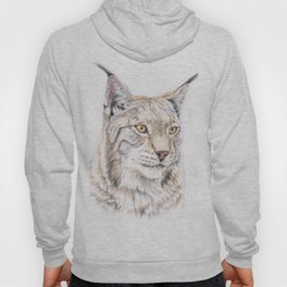 Lynx - Colored Pencil Hoody