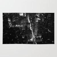 manhattan Area & Throw Rugs featuring Manhattan by Anne Dante