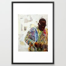 Biggie Framed Art Print