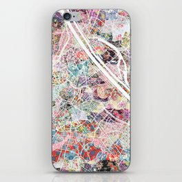 Vienna map iPhone Skin
