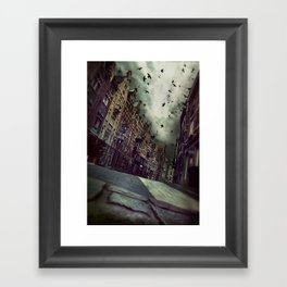 Architecture in Ghent, Belgium  Framed Art Print