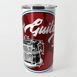 Guitar Dad Electric Guitarist Amplifier Band Gift Travel Mug