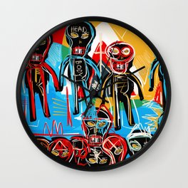 One in crowd Wall Clock