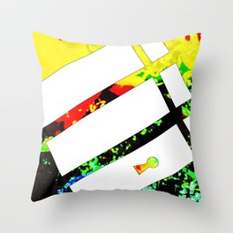 Squeegee Throw Pillow